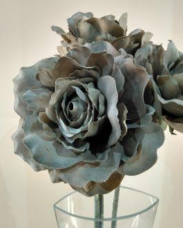Rosa artif. color beig oscuro