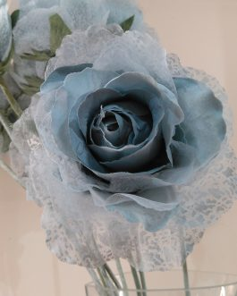 Rosa azul artif.