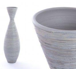 Jarrón cerámica 25X25X80