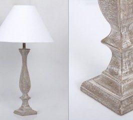 Lámpara sobremesa 14X14X75