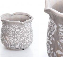 Macetero cerámica 16*16*15