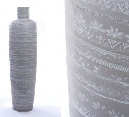 Jarrón cerámica 100×27
