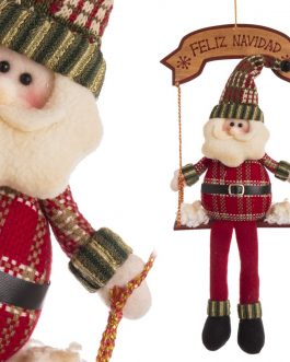 Colgante Papá Noel 40,50 cm.