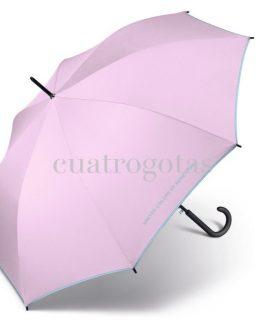 Paraguas Benetton lilac grey