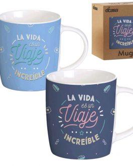 Taza cerámica «Viaje»