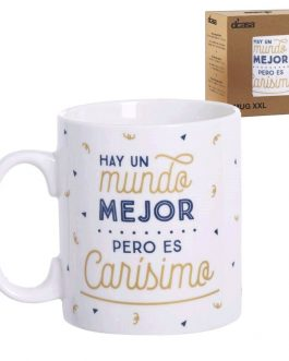 Taza cerámica XXL «Carísimo»