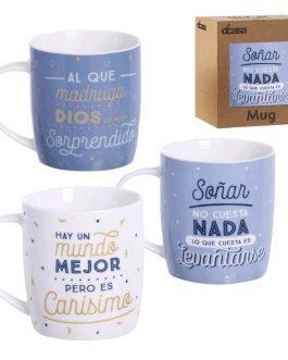 Taza cerámica «Frases divertidas»