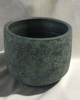 Maceta cerámica 15x15x14 cm.