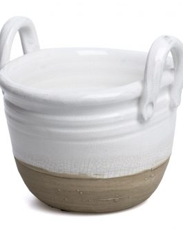 Cesta cerámica 23x19x20 cm.