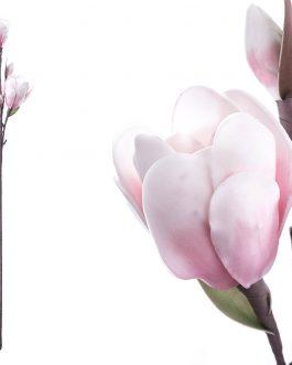 Flor foam rosa 24x19x91 cm