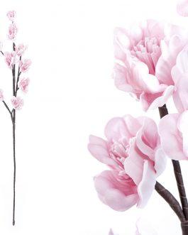Flor foam rosa 15x10x75 cm.