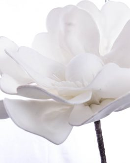 Flor foam blanca