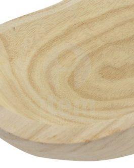 Centro madera natural 32×13,5×6 cm.