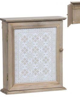 Caja llaves madera 22,5x7x25 cm