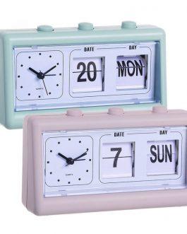 Reloj despertador con fecha