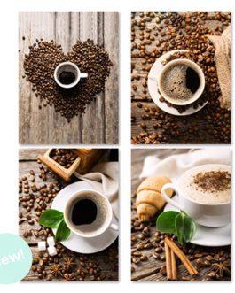 Lienzo café 30×40 cm.