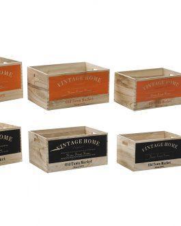 Cajas paulownia vintage