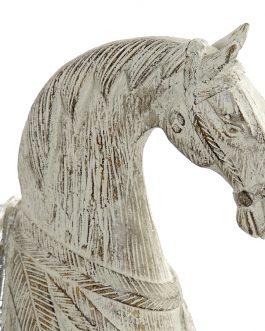Figura resina caballo 27x7x24 cm