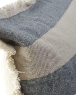Cojín algodón marino 45x45cm