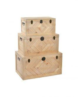 Baúl madera 58x28x29 cm