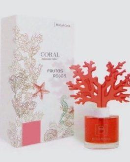 Ambientador coral celulosa distintos aromas.