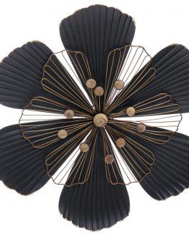 Decoración metal flor 52x4x52cm