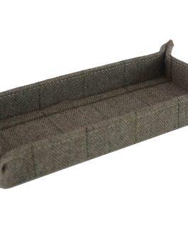 Vacía bolsillos textil 25x10x3 cm