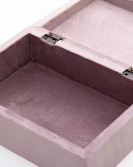 Caja rectangular Velvet.