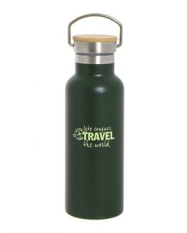 Botella acero inox. 500ml «Travel»