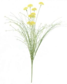 Ramo silvestre vibornum 60 cm amarillo