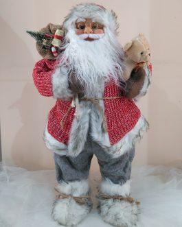 Papá Noel chaqueta roja 60 cm.