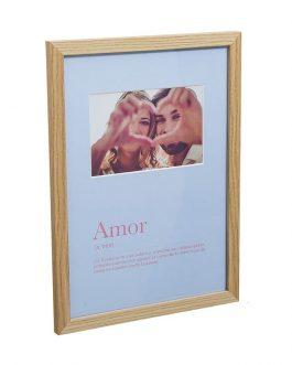 Portafotos «Amor» 32×23,5 cm