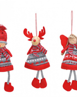 Muñeco Navidad surtido 20×8 cm