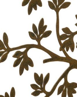 Decoración metal árbol de la vida 40x1x40 cm.