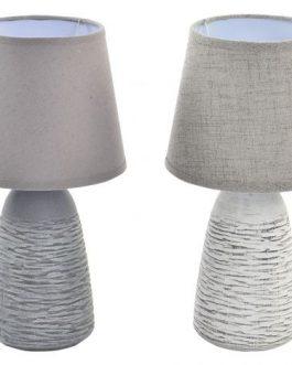 Lámpara sobremesa pie cerámica 18×34,5 cm.