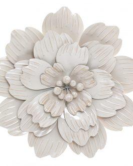 Flor decoración metal 48x8x48 cm.