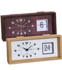 Reloj despertador con fecha 20x9x6 cm.