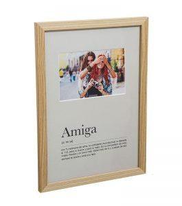 Portafotos «Amiga» 32×23,5 cm.