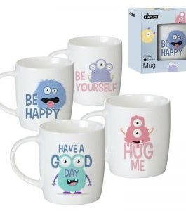 Taza monstruos 350 ml.