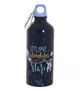 Botella aluminio 600ml. astronauta.