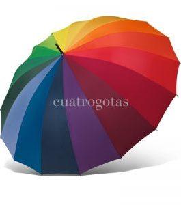 Paraguas arco iris.