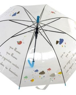 Paraguas infantil canción 67×85 cm