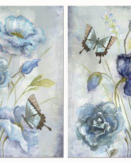 Lienzo flores 70x3x100 cm.