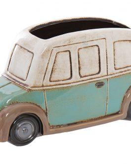 Macetero coche cerámica 31x11x17 cm