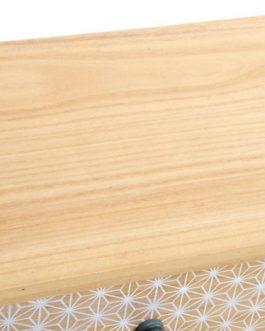 Cajonera paulownia cajones 60x26x94 cm.