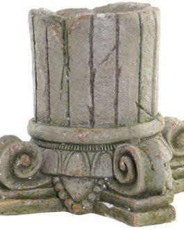 Macetero fibra de vidrio columna 32x32x31 cm