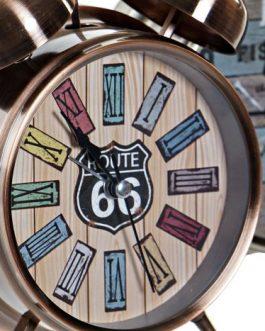 Reloj despertador metal 11,5×5,5x16cm