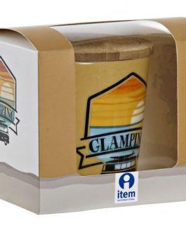 Mug infusión porcelana «Glamping»