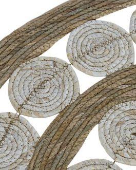 Alfombra fibra natural 80×80 cm.