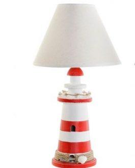 Lámpara sobremesa faro 24x24x45 cm